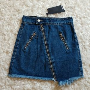 Momokrom Down-' low Denim Skirt